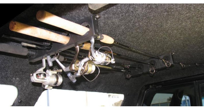 Snugtop accessories custom truck accessories for Suv fishing rod holder