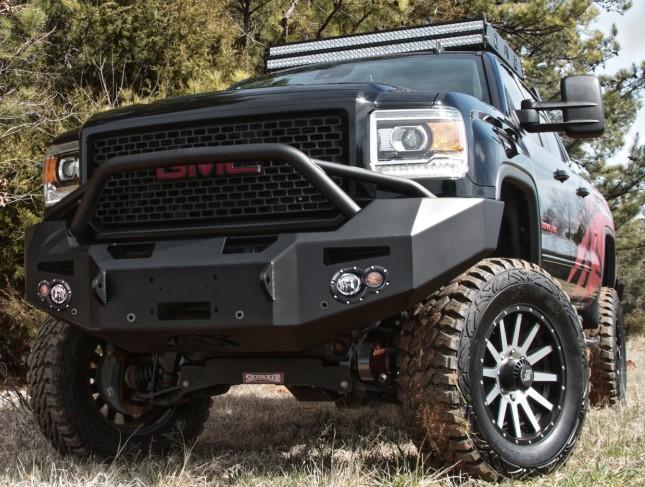 FabFours GMC Bumper - Custom Truck Accessories