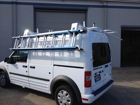 Ford Transit Connect Lock Ladder Racks