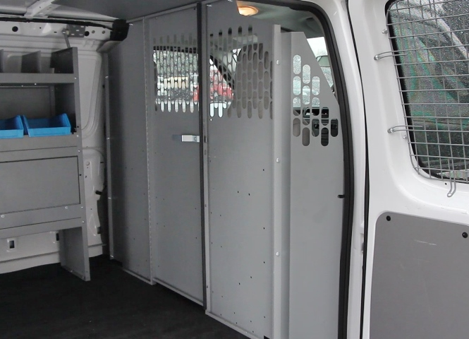 Commercial van interiors van equipment accessories for Commercial van interior accessories